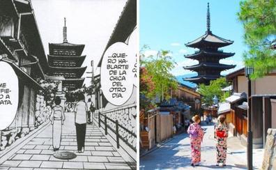Peregrinar al mundo del manga