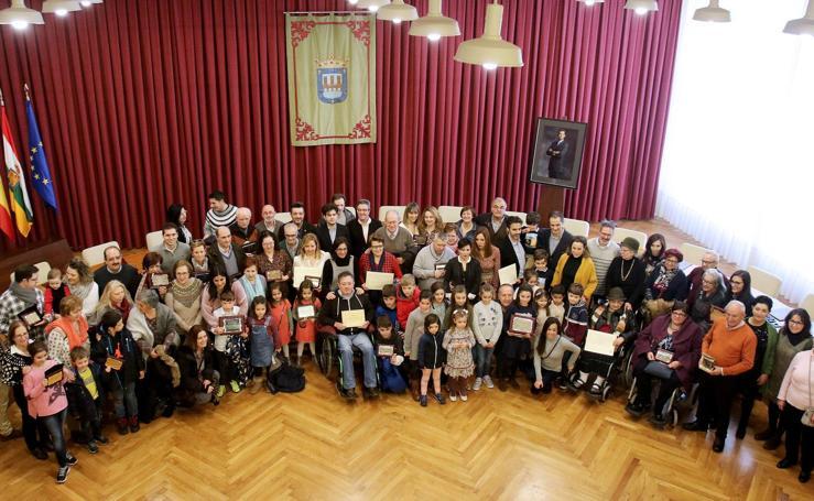 Entrega de premios del Concurso de Belenes de Logroño