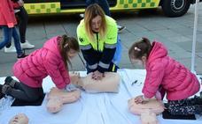 Taller de primeros auxilios para niños