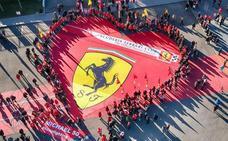 Ferrari felicita los 50 años de Schumacher con una exposición