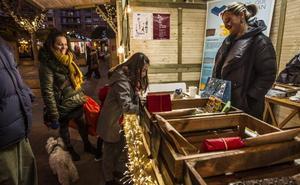 Actividades en el Mercado de la Navidad