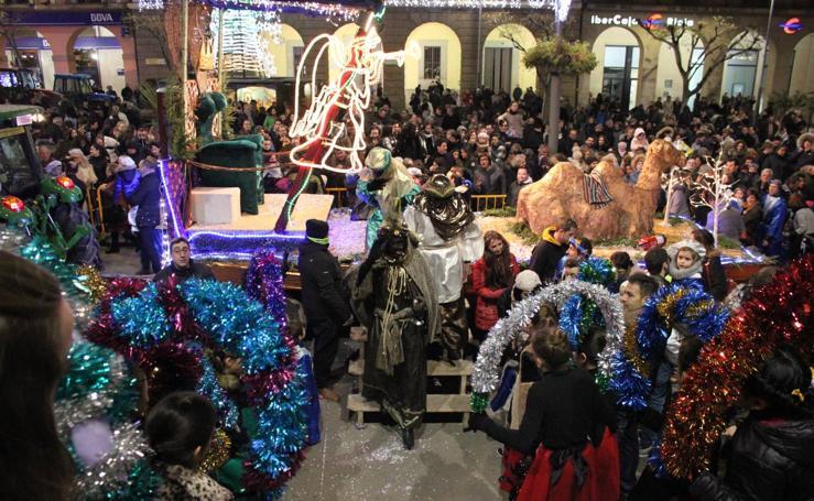 Cabalgata de Reyes en Alfaro