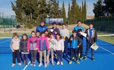 Torneo de Navidad de tenis, en Alfaro
