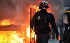 Al menos 34 detenidos durante la octava movilización de los 'chalecos amarillos' en París