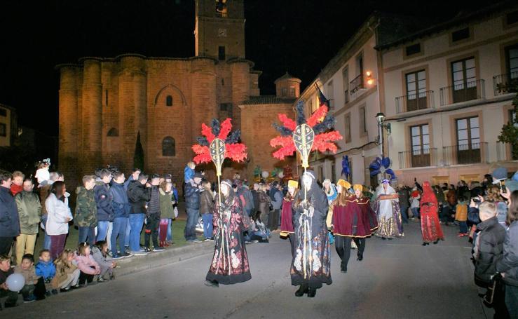 Los Reyes Magos, en Nájera