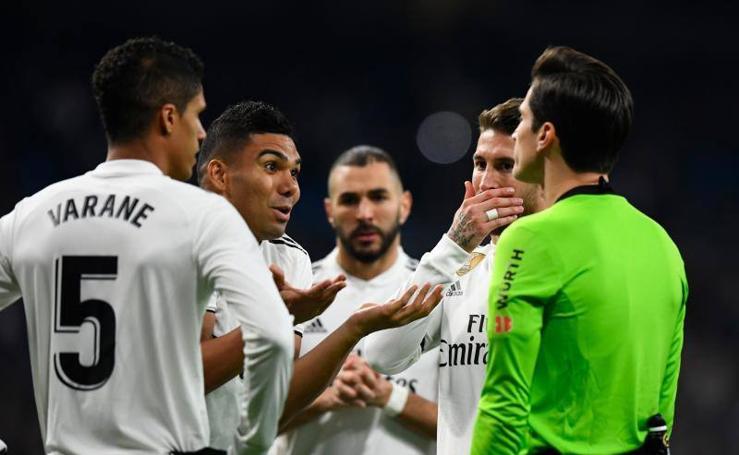 Las mejores imágenes del Real Madrid-Real Sociedad