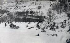 La Retina: prácticas militares junto a Lomos de Orio