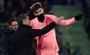 Ernesto Valverde comienza el año reforzado