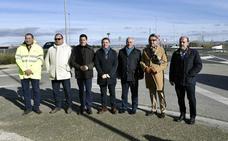 Inversión de 922.000 para mejorar la carretera entre Calahorra y San Adrián