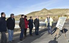 La variante de Ventas del Baño «facilita el acceso a la comarca de Cervera del Río Alhama»