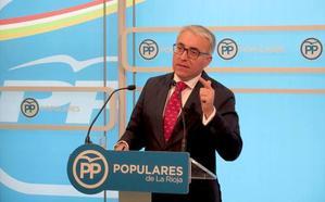 El PP reprueba «el bloqueo» de la oposición en el Parlamento contra los riojanos