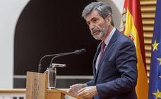Lesmes recuerda al Parlamento su «obligación» de renovar el CGPJ