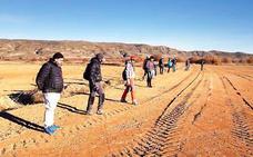 En busca de un meteorito en Ausejo