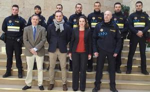 Siete nuevos agentes se incorporan a la Policía Local de Logroño