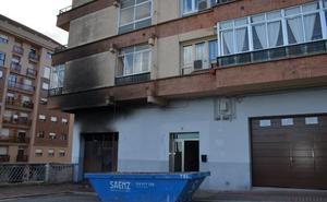 «Fueron unos vecinos quienes nos avisaron de que había fuego»