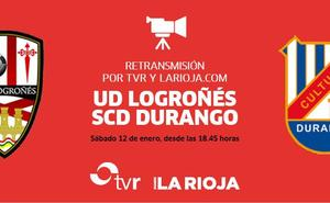 El UDL-Durango lo podrás ¡ver!, en directo, en larioja.com y TVR