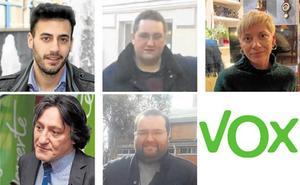 Un empresario, un autónomo y tres empleados, las 'caras' de Vox La Rioja