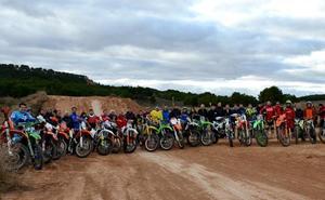 El nuevo circuito de motocross de Valfondillo se pone en marcha