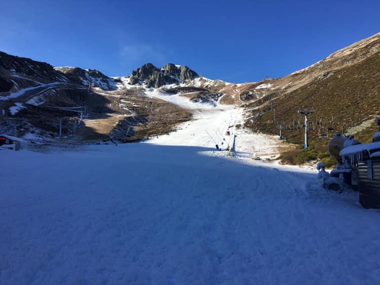 La nieve de León se pone en marcha