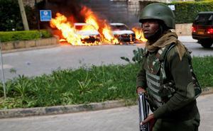 Quince muertos en un ataque yihadista en un hotel de Kenia