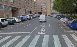 Dos mujeres y un hombre heridos en tres atropellos en una mañana en Logroño