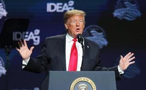 Trump urge a los demócratas a liberar el dinero para el muro ante la llegada de una nueva caravana de migrantes