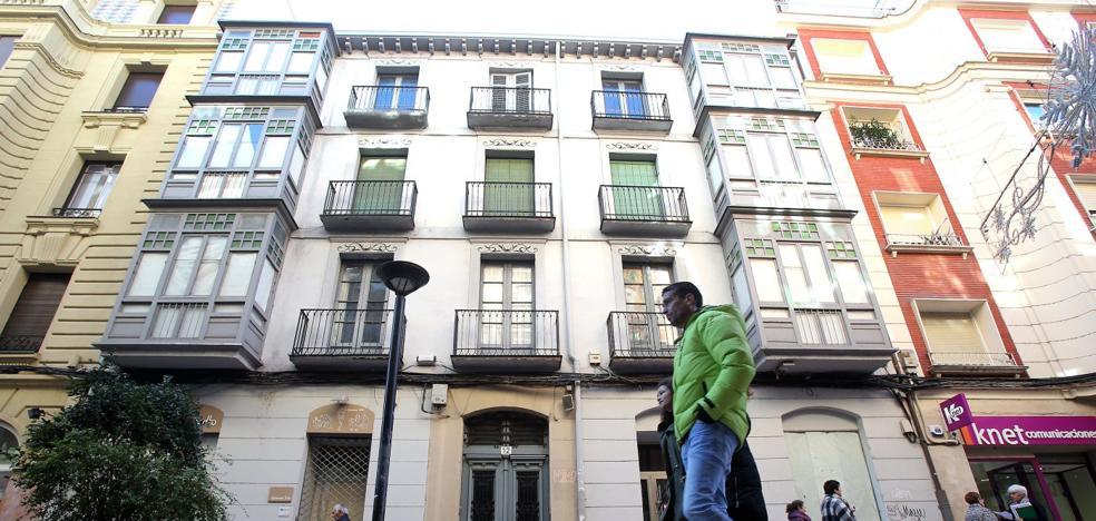 La Cocina Económica subasta desde 800.000 euros un edificio donado en Presidente Calvo Sotelo 12