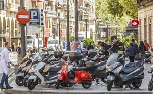 Logroño tendrá 106 nuevos aparcamientos para motos