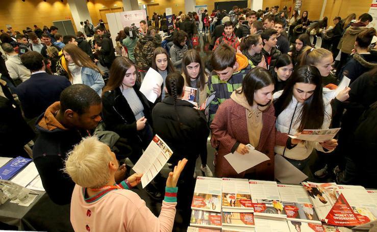 Los futuros universitarios aclaran sus opciones