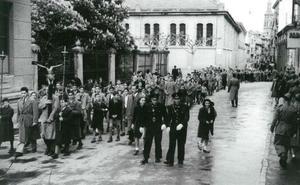 La Retina: procesión por el centro de Logroño
