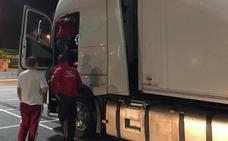 Detenido en Viana el conductor de un camión que sextuplicaba la tasa de alcohol permitida