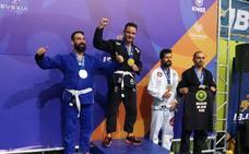El policía local de Logroño Sergio Corral logra el oro en el Europeo de Lisboa