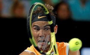 Nadal y Federer acceden reconfortados a octavos de final en Australia