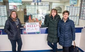 El tercer premio de la Lotería Nacional deja 100.000 euros en Santo Domingo de la Calzada