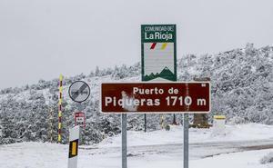 Alerta amarilla por nevadas a partir de mil metros en la sierra riojana