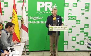 El PR+ exige a Ceniceros que reclame los 302 millones que se deben a La Rioja por el efecto frontera