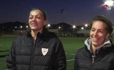 Cami Privett y Claire Falknor cuentan su experiencia como futbolistas en España