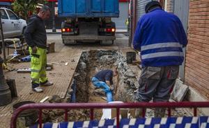 El Ayuntamiento busca «soluciones definitivas» para evitar más reventones en la Valcuerna