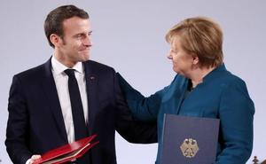 París y Berlín actualizan su alianza para impulsar Europa frente a las amenazas nacionalistas