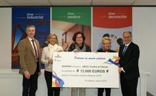 Barpimo entrega 12.000 euros a la AECC de Nájera