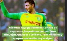 Messi pide que se siga buscando a Emiliano Sala