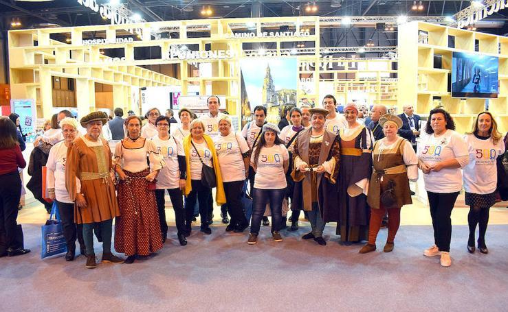 La Rioja presenta en Fitur la ruta La Rioja y da a conocer los actos del V Centenario del Sitio de Logroño