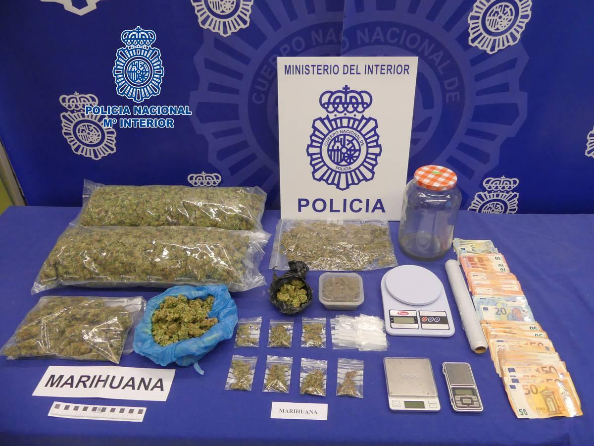 Siete detenidos en Logroño por varios delitos de tráfico de drogas