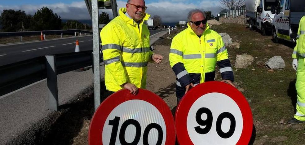 Todos a 90 km/h en carretera