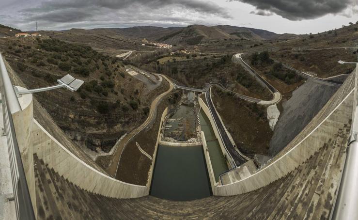 La presa de Enciso se inaugura