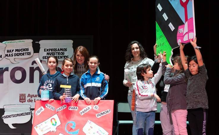 Gala 'Escuelas libres de rumores' en el Auditorio del Ayuntamiento