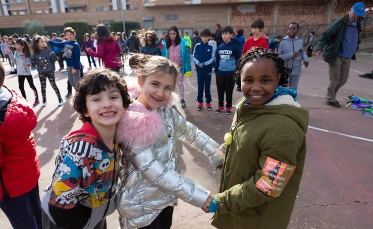 Las Gaunas celebra el Día de La Paz