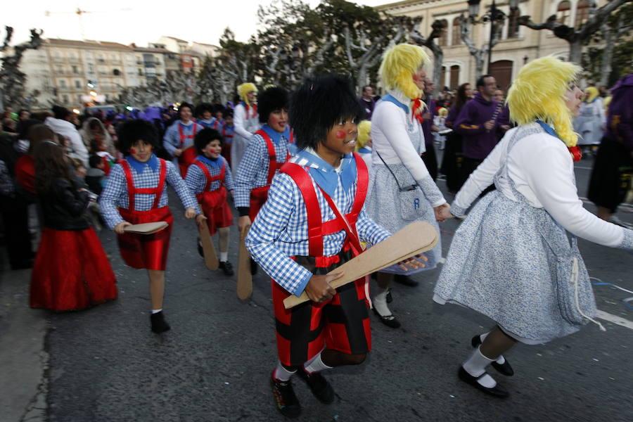 El Desfile de Carnaval centra la actividad de los centros jóvenes de Logroño