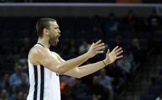 Marc Gasol y Rubio no evitan las derrotas de los Grizzlies y de los Jazz