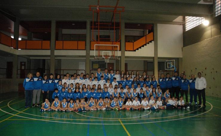 Presentación de los equipos de Calahorra Basket-ADT Teresianas